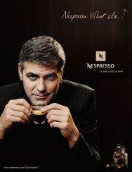 Nespresso George Clooney Pub