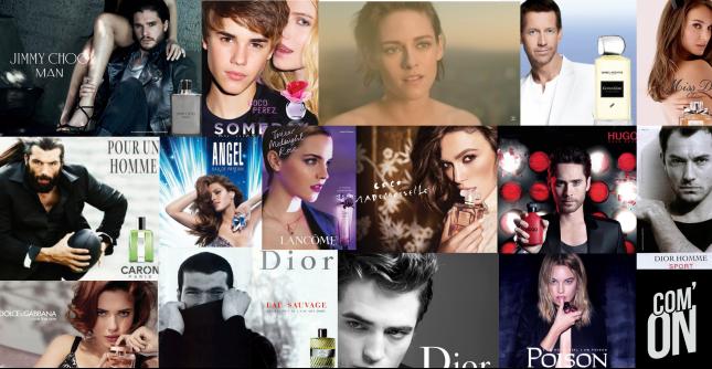 Célébrités dans les publicités de parfum - Com' ON
