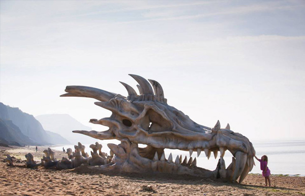 game of thrones-dragon beach