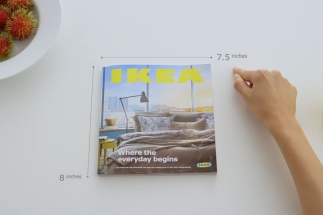 "Ikea présente son catalogue"" à la apple """