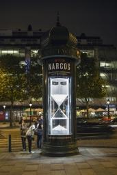 Narcos colonne Morris champs elysees
