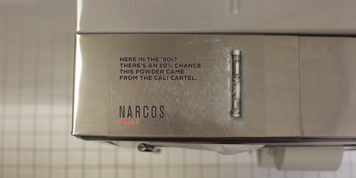 narcos street marketing boite de nuit 1