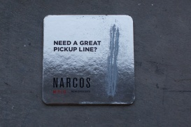 narcos street marketing boite de nuit