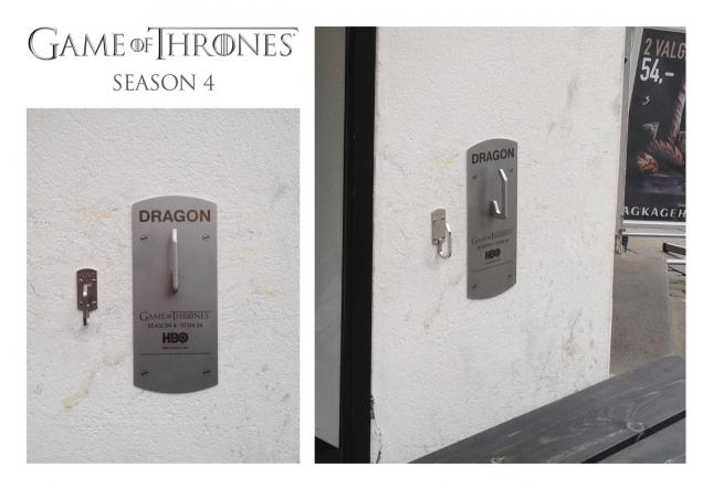 Game Of Thrones street marketing