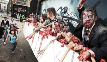 walking-dead panneau street-marketing 2