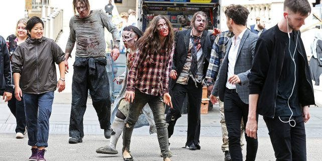 walking-dead street-marketing
