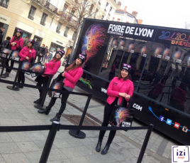 Street Marketing (Agence IZI Event) flyer foire de Lyon