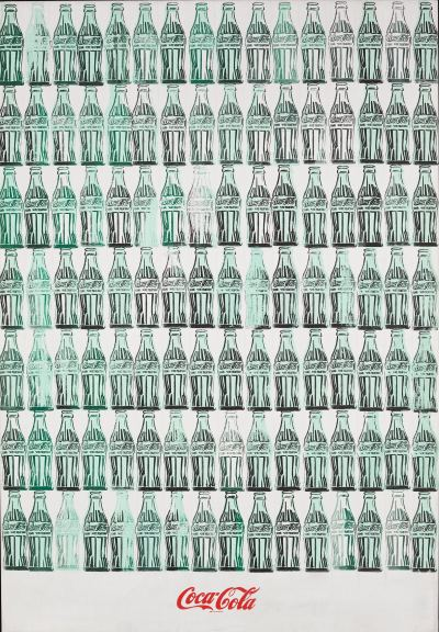 Green Coca-Cola Bottles - Andy Warhol