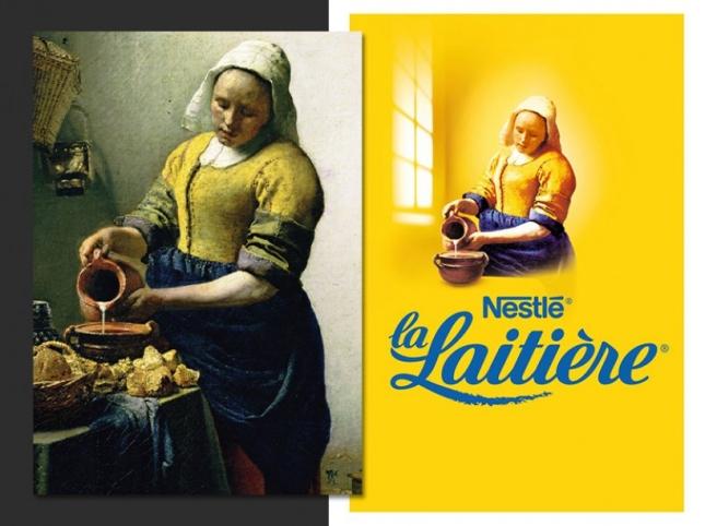 Johannes Vermeer. La laitière (1660)
