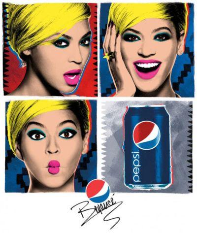 Pepsi Warhol Beyoncé