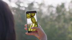 snapchat art et l'art de Jeff Koons en réalité augmentée