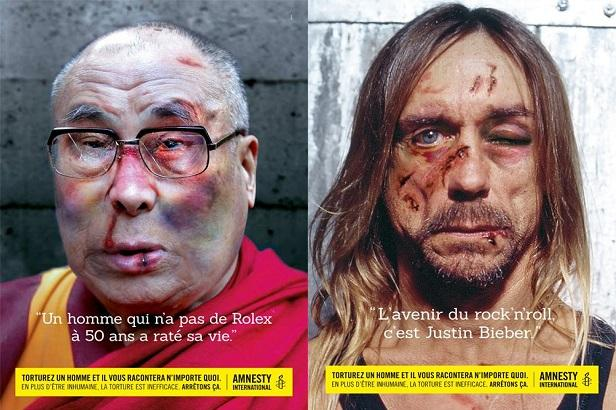 Amnesty international Iggy pop Dalai-lama