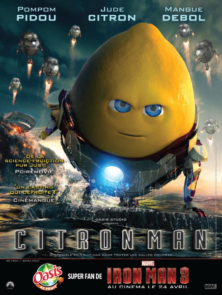 CitronMan oasis iron man ad