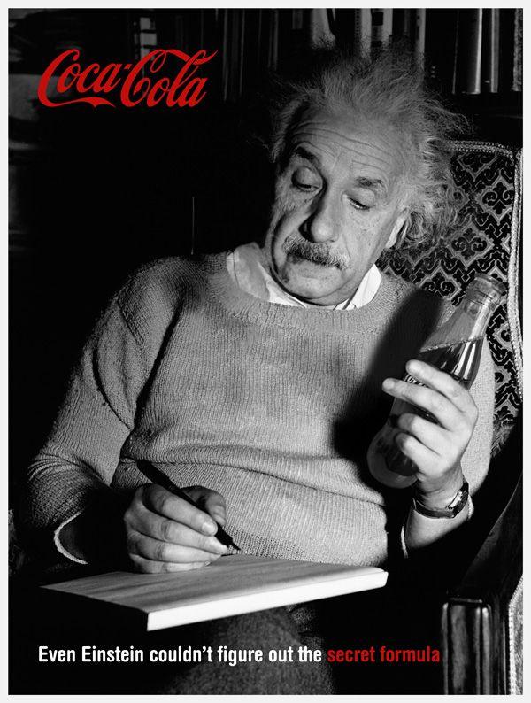 Einstein Coca ad