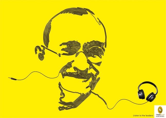 Gandhi ad