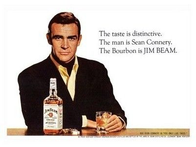 James Bond Jim Bean ad