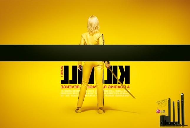 LG Kill Bill ad