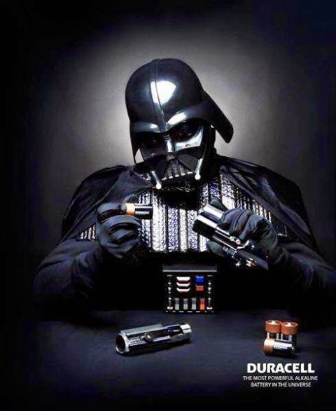 Star Wars ad Dark Vador