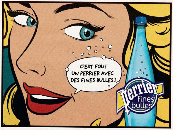 Roy Lichtenstein ad
